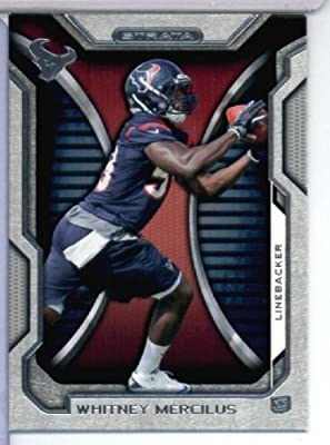 2012 Topps Strata Hobby Football Card #68 Whitney Mercilus RC - Houston Texans (RC - Rookie Card) NFL Trading Cards