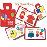 My Quiet Book, Fabric Activity Book for Children, Baby & Kids Zone