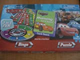 Disney Pixar Cars Game (Bingo), Card Game (Rummy) and Puzzle