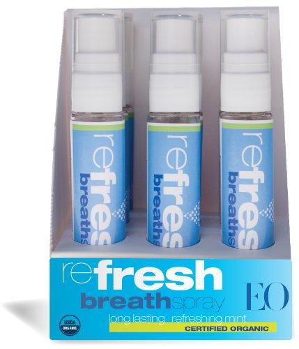 EO Organic Breath Spray, 12 Count