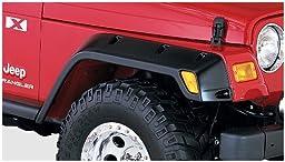 Bushwacker Jeep Pocket Style Fender Flare Set of 4