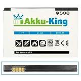 Akku-King Battery for Motorola Razr V3 / Razr V3i / PEBL U6 - replaces BA700 / Prolife 500 - BR50 - Li-Ion - 900mAh