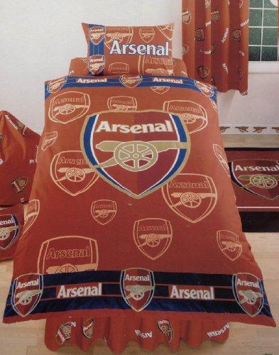 Official Arsenal Football Bedding Duvet Cover Set [Misc.]