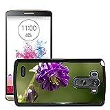 Hot Style Cell Phone PC Hard Case Cover M00310539 Common Columbine Flower Purple Plant LG G3 VS985