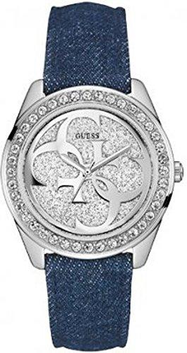 Guess Damen-Armbanduhr Analog Quarz Leder W0627L1 thumbnail