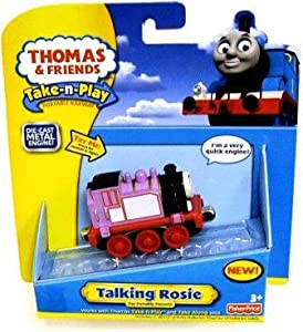 Thomas & Friends Take-n-Play Talking Rosie NEW Die Cast: Toys & Games