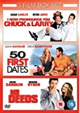 I Now Pronounce You Chuck And Larry/50 First Dates/Mr Deeds [DVD]