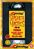 Shameless Slasher Nasties Box Set (Killer Nun / Torso / Night Train Murders) [DVD]