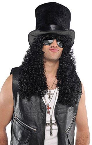 Amsca (Black Headbanger Wig)