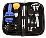 Micro Trader 31Pcs Watch Opener Remover Spring Pin Bar Repair Tool Kit With Case