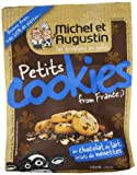Michel and Augustin Little Cookies from France Milk Chocolate and Hazelnuts 160 g (Pack of 3)