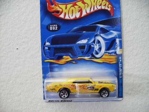 HOT Wheels 67 Pontiac GTO Hippie Mobile Series 2002 #092[toy] - 1