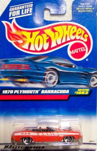 Hotwheels 1970 Plymouth Barracuda Collector #1063 - 1