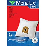 Menalux 3100 Pack of 5 Dustbags 1 motor filter to cut & 1 micro to cut