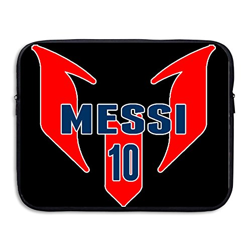 Custom Cool Soccer Star Leo Messi Anti-shock Tablet Carrying Case Bag 15 Inch