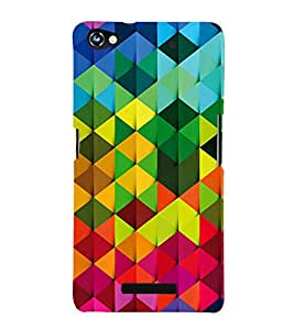 EPICCASE Colorful Pattern Mobile Back Case Cover For Micromax Canvas Hue 2 A316 (Designer Case)