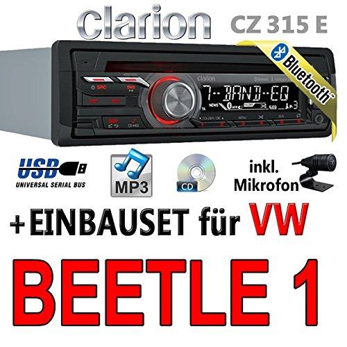 Volkswagen beetle 1-clarion cZ315E-autoradio bluetooth avec