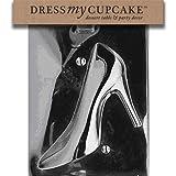 Dress My Cupcake Chocolate Candy Mold, High Heel Shoe