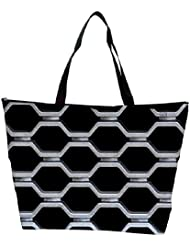 Snoogg Abstract Cage Designer Waterproof Bag Made Of High Strength Nylon