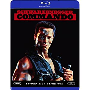 Click to buy Arnold Schwarzenegger Movies: Commando (Blu-ray) from Amazon!