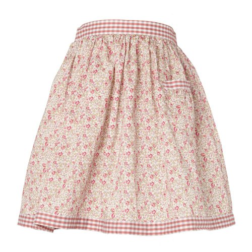 Little Legend Girls Pink Liberty Print Cotton Skirt