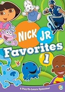 Nick Jr Favorites 1 Dvd Region 1 Us Import Ntsc Amazon Co