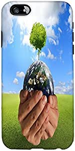 Snoogg Tree On The Earth Designer Protective Back Case Cover For Apple Iphone 6
