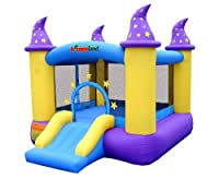 Wizard Inflatable Bounce House Bouncer by Bounceland