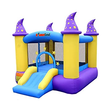 Bounceland Wizard Castle Inflatable Bounce House