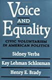 img - for Voice and Equality: Civic Voluntarism in American Politics book / textbook / text book