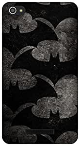 The Racoon Grip Bat Pattern hard plastic printed back case / cover for Micromax Canvas Hue 2 A316