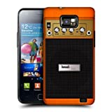 Head Case Designs Orange Chorus Guitar Amp Protective Snap on Hard Back Case Cover for Samsung Galaxy S2 II I9100