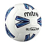 Mitre Ultimatch 18p Football - White Size 3