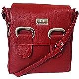 Chalissa Girl's Red Stylish Sling Bag