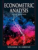 img - for W. H. Greene's 6th(sixth) edition (Econometric Analysis [Hardcover])(2007) book / textbook / text book