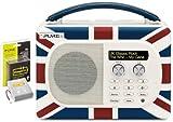 Pure Evoke Mio Union Jack Portable Radio & Chargepak E1