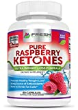 Pure Raspberry Ketones MAX 1000mg Per Serving ✮ BUY 2 GET 1 FREE ✮ Powerful Weight Loss Supplement ✮ Shrinks Fat Cells & Provides Energy Boost w/ Our Vegan Friendly Formula ✮ 60 Capsules by Fresh Healthcare