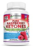 Fresh Healthcare 100% Pure Raspberry Ketones MAX 1000mg Per Serving ✮ Powerful Weight Loss Supplement ✮ Shrinks Fat Cells & Provides Energy Boost ✮ Vegan Friendly Formula
