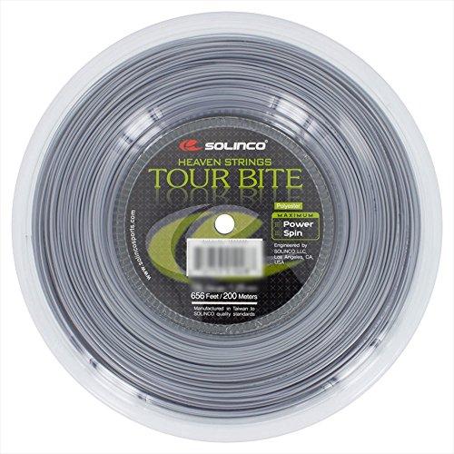 SOLINCO(ソリンコ) ツアーバイト 200Mロール 硬式テニス ポリエステル ガット 1920028 /1.05mm [並行輸入品]