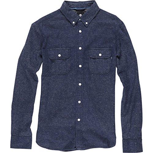 Camicia A Maniche Lunghe Element Ross Denim Indigo (Xl , Blu Scuro)