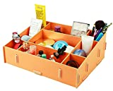 Soyoo DIY Multifunction Office Cosmetics Desk Organizer Box Partition