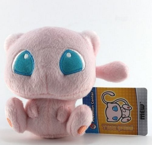 """Pokémon Pokemon Plush Mew Doll Around 15cm 6"""" Pink, Free"""