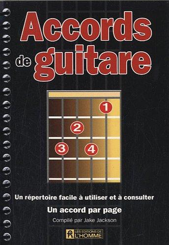 Accords de guitare : Un repertoire facile à utiliser et à consulter