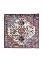L'Eden del Tappeto Alfombra Yalameh Rojo / Azul / Beige 200 x 197 cm
