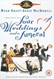 Four Weddings And A Funeral packshot