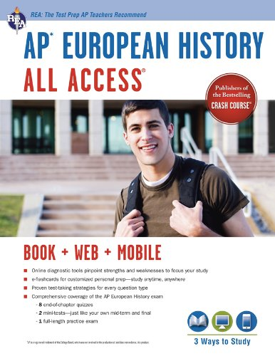 Ap® European History All Access Book + Online + Mobile (Advanced Placement (Ap) All Access)