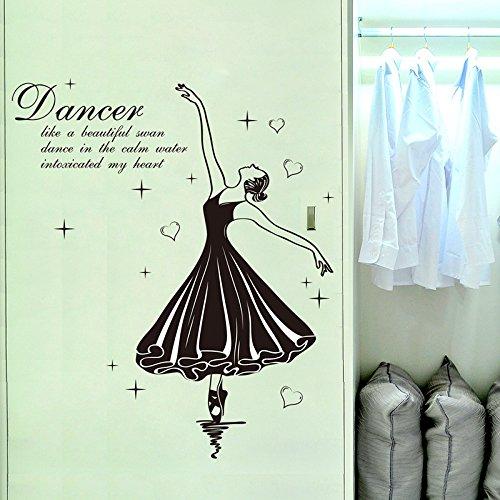 Decorazione murale idee Wall stickers Ballet arte,ballerina