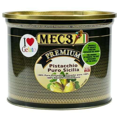 Sicilian Pistachio Paste - 100% - 1 can, 4.6 lb