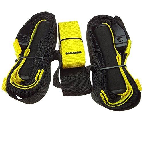 Suspension Trainer Originale, LIHAO Suspension Strap Workout Home Attrezzo per Fitness, Unisex adulto