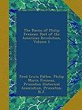 The Poems of Philip Freneau: Poet of the American Revolution, Volume 1